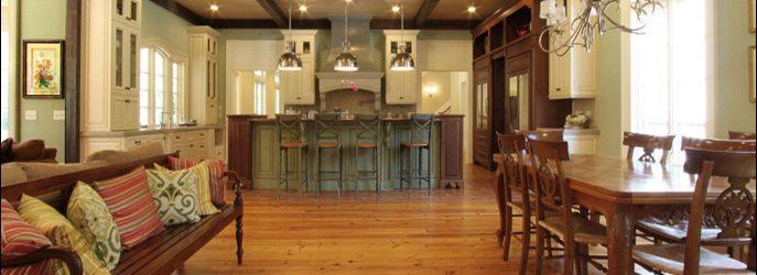 Reclaimed Heart Pine Wide Plank Wood Flooring Select Grade
