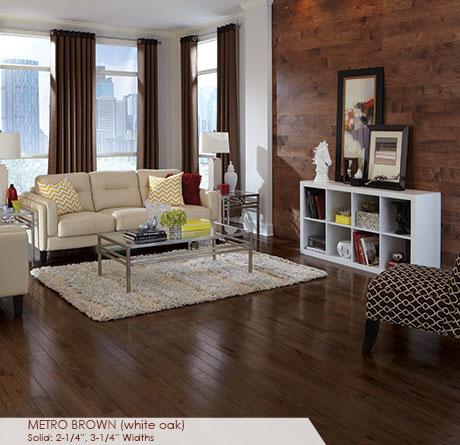 White Oak Mocha Solid Prefinished