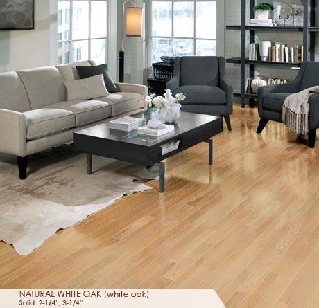 White Oak Natural Solid Prefinished