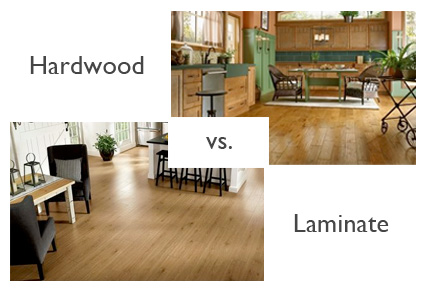 Wood Floors vs. laminate flooring: what's the difference? - Wood Floors Vs. Laminate Flooring: What's The Difference? €� Wood